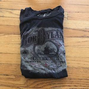 Lucky Brand Bob Dylan t shirt xl